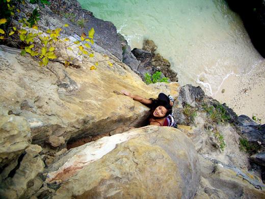 Climbing in Cat Ba Island, Vietnam