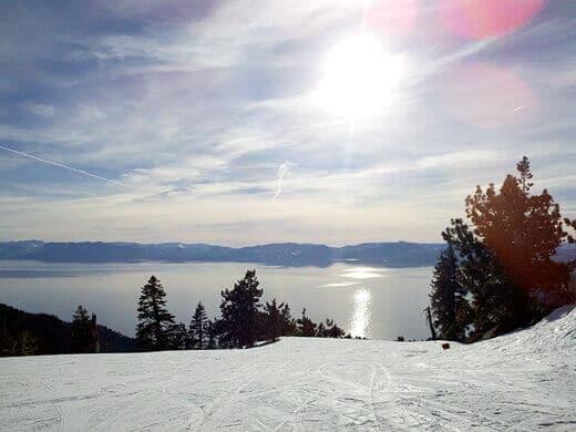 View of Lake Tahoe from Diamond Peak