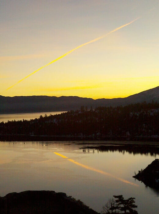 Dawn at Emerald Bay