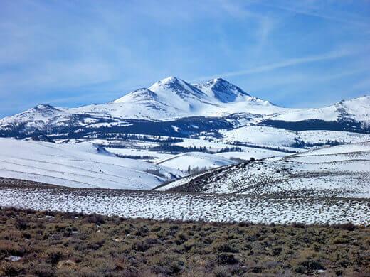 Snow-capped Sierras