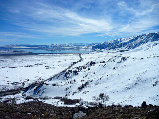 Mono Lake in the distance