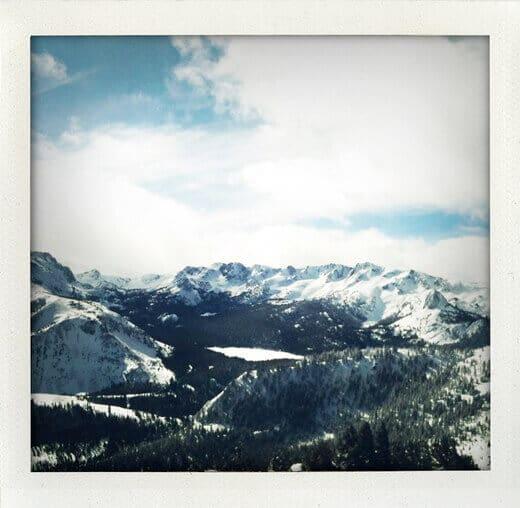 Powder day at Mammoth Mountain