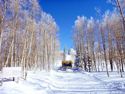 Powder Mountain snowcat lift