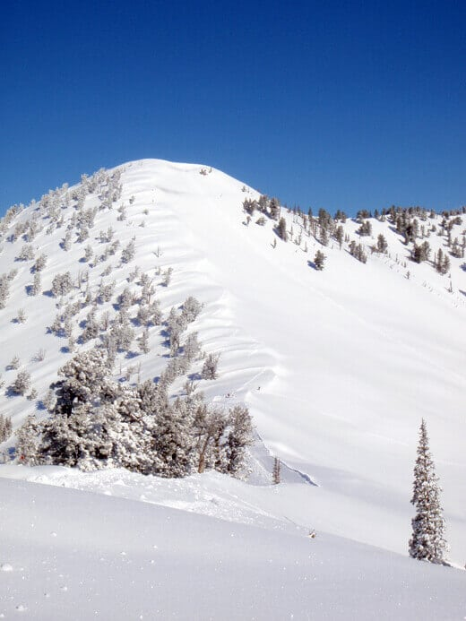 The ascent of James Peak