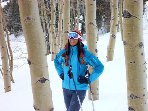 Aspen tree runs galore