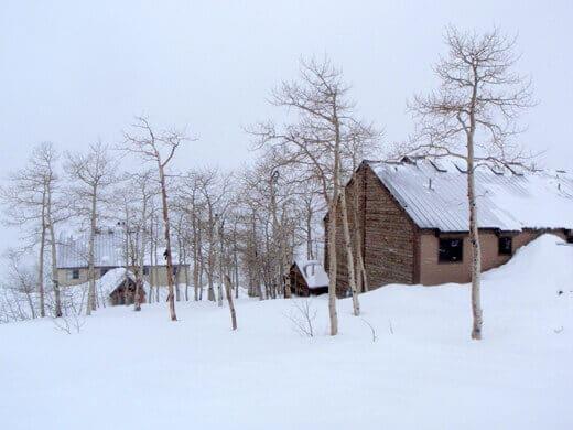 True ski-in/ski-out lodging