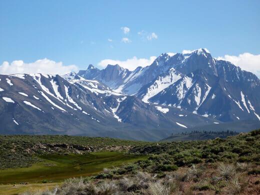 Eastern Sierra Nevada mountain range