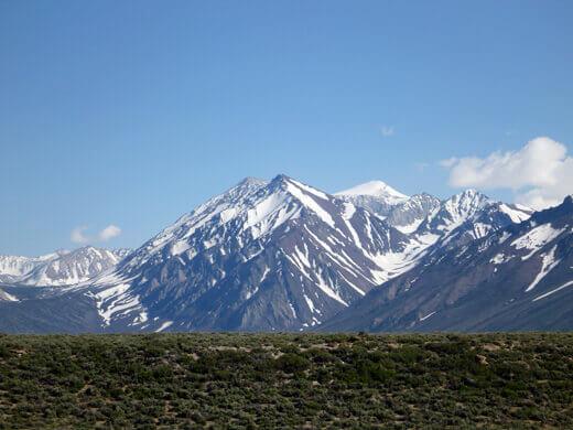 Views of the Eastern Sierra Nevada