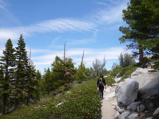 Sherwin Lake Trail