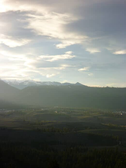 Views of the valley