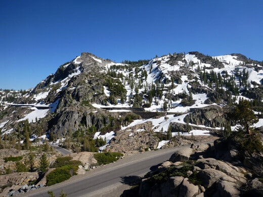 Donner Summit's classic granite climbing walls