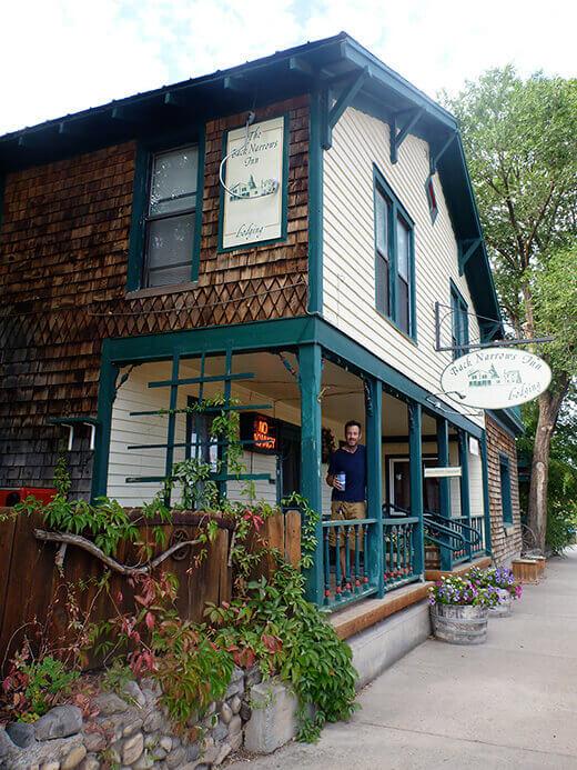 Back Narrows Inn in Norwood, Colorado