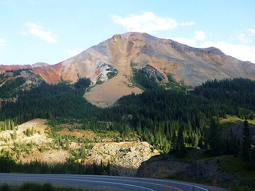 Red Mountain Pass in Colorado