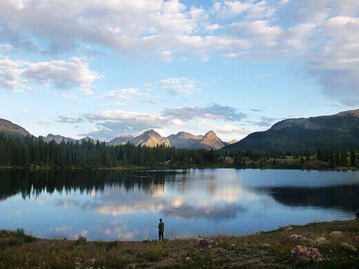 Molas Lake in Silverton, Colorado