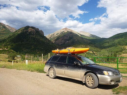Deep Creek Road in Southern Colorado