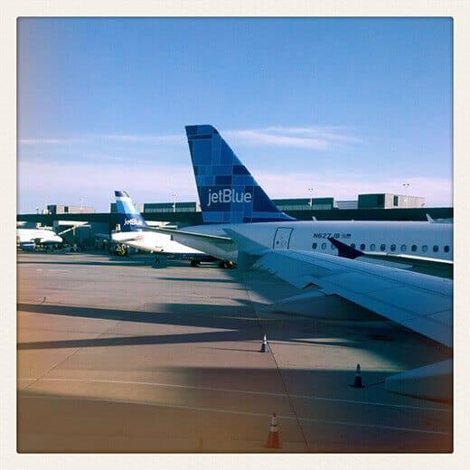 Got on a plane