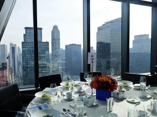 Awards luncheon at Hearst Tower