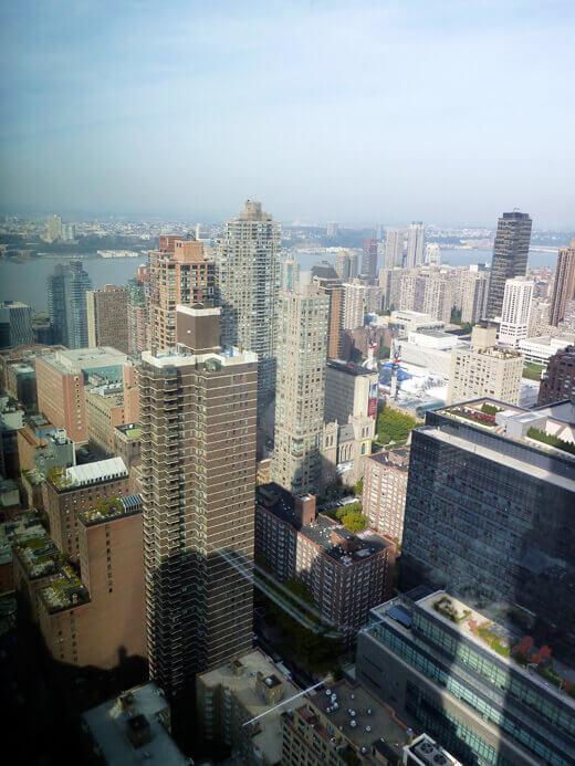 View of Manhattan highrises