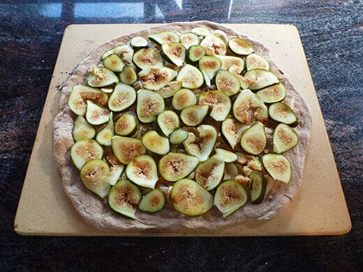 Add fig slices on top