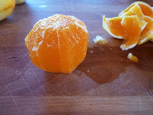 Slice off the pith