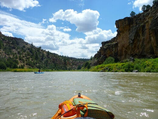 Kayaking the Rio Chama