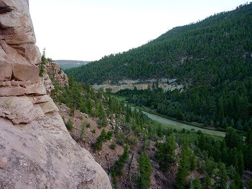 Overlook of the Rio Chama