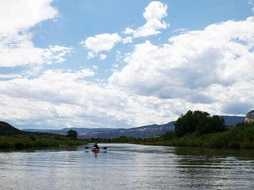 Solitude on the Rio Chama