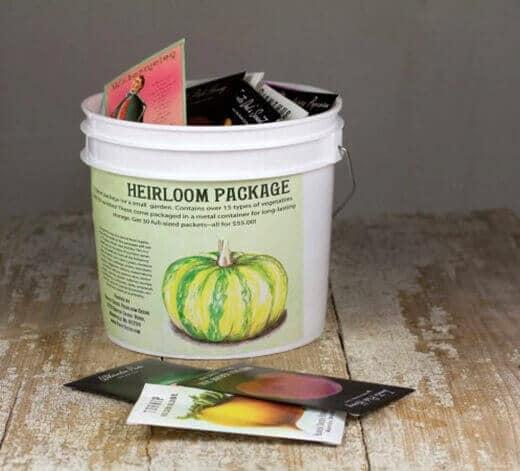 Baker Creek Heirloom Seeds giveaway