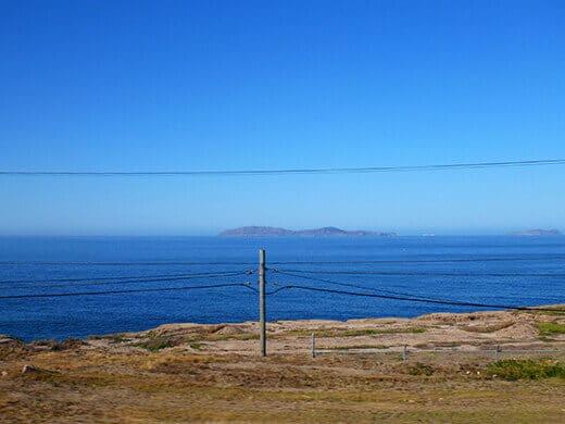 Northern Baja coastline