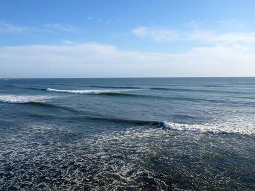 Secret surf break