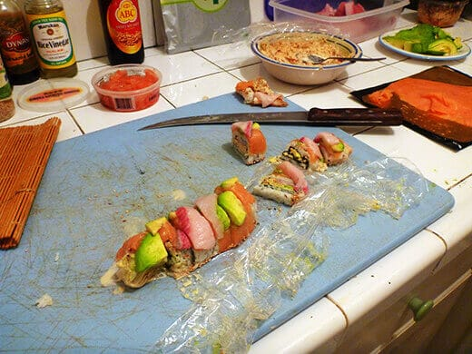 The freshest homemade sushi in Mexico