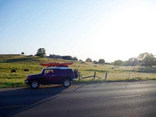 Driving through the San Joaquin Valley