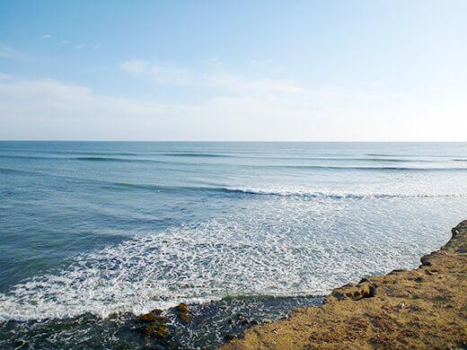 A calming ocean view
