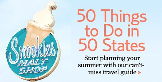 50 Things to Do in 50 States by Country Living