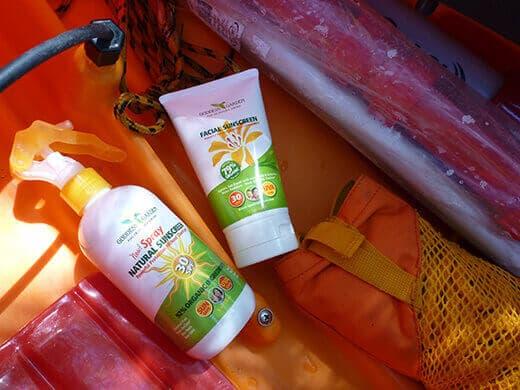 Goddess Garden natural sunscreen