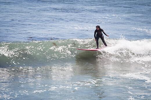 Longboarding bliss in Baja