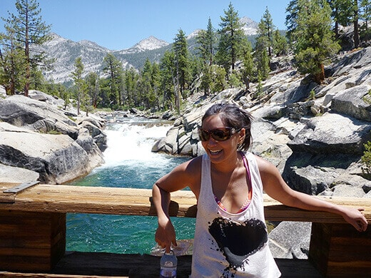 On the South Fork San Joaquin River
