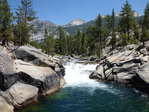 Cascades on the South Fork San Joaquin River