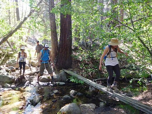 Hiking in the John Muir Wilderness