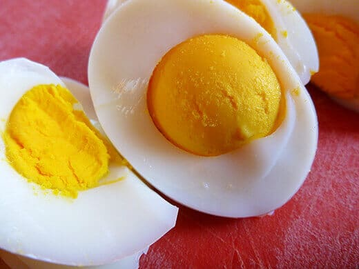 Perfect hard-boiled eggs using farm-fresh eggs