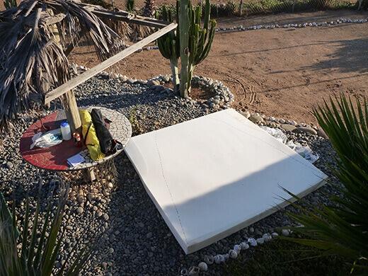 Our new memory foam mattress