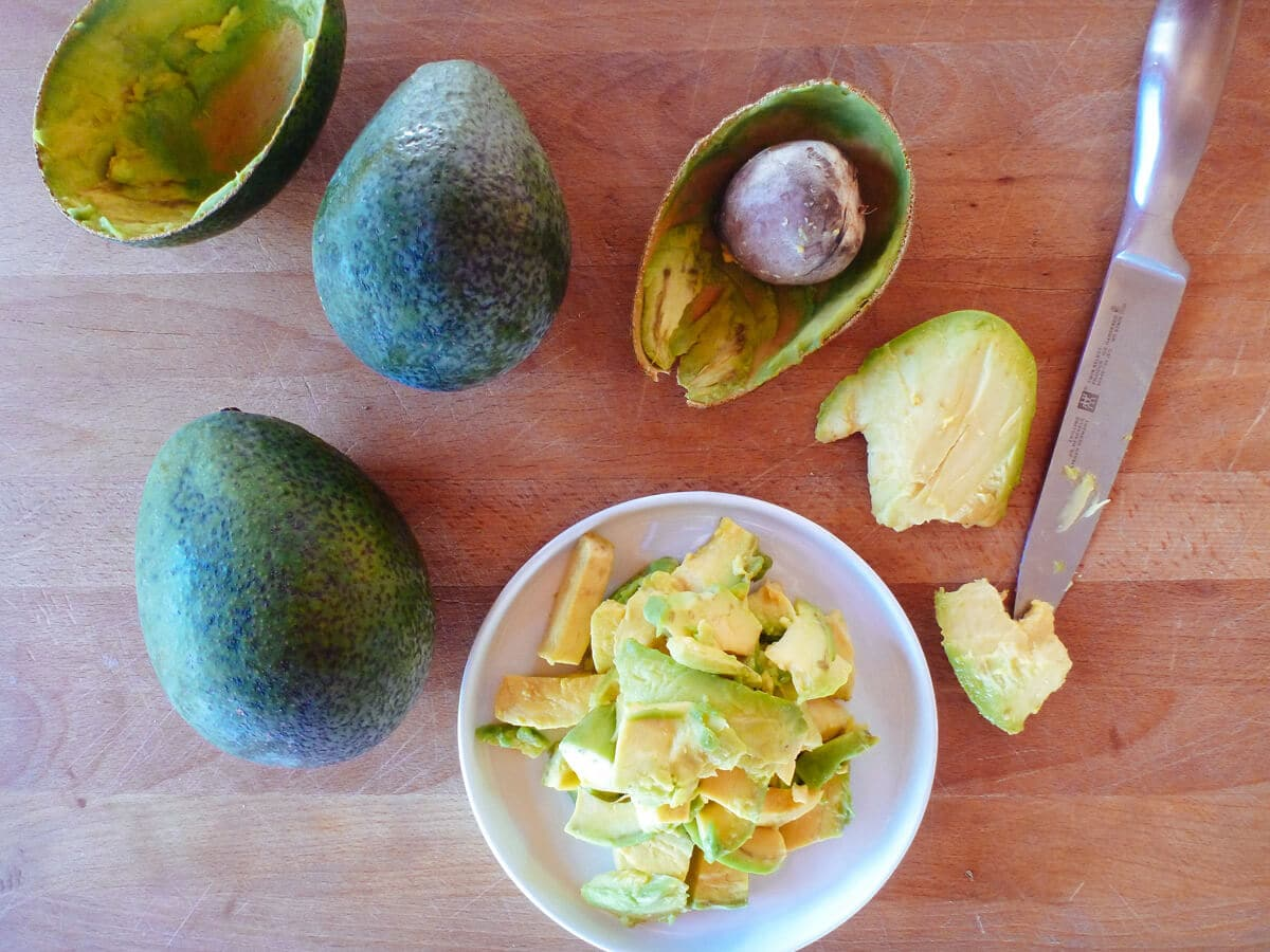 Ripe, buttery, nutty California avocados