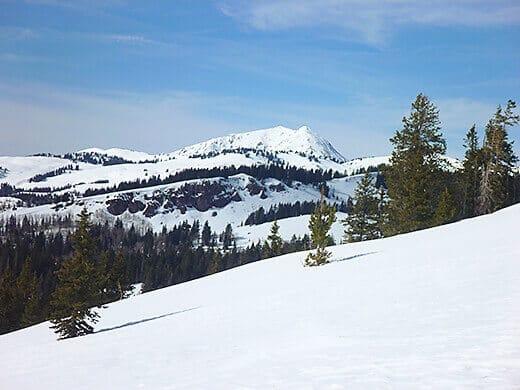 Tushar Range in southwestern Utah