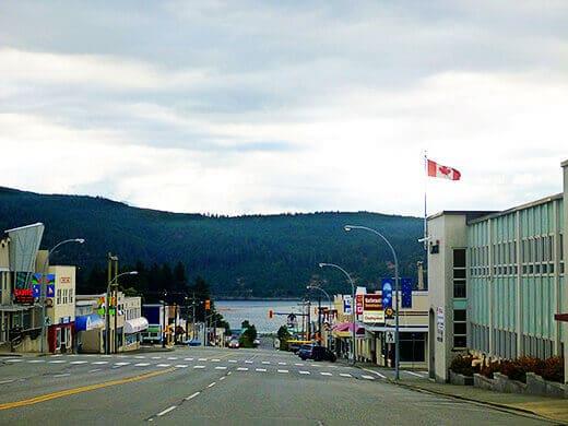 Port Alberni on Vancouver Island