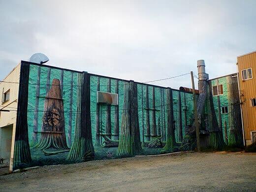 Street art in Port Alberni