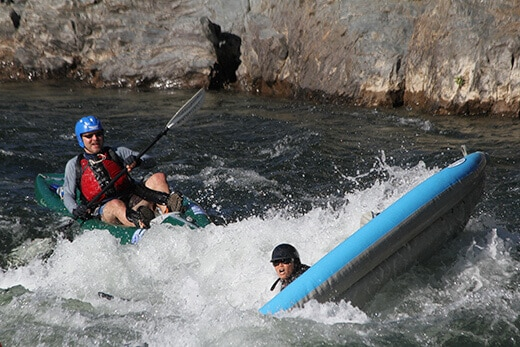 The Gorge Run on the American River