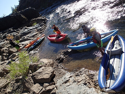 The Gorge Run on the South Fork American River