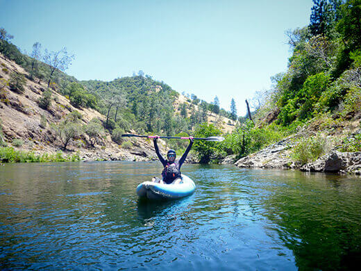 Paddling the Chili Bar Run on the South Fork American River