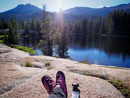 Perfect afternoon at Raisin Lake