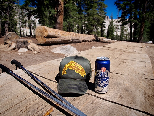 Free beer from the High Sierra Camp